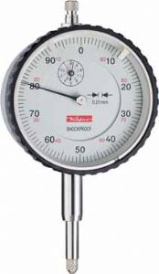 KAFER Dial Gauge MU 52 ST - Shockproof - Reading: 0.01 mm